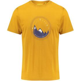 Meru Tumba Miehet Lyhythihainen paita , keltainen